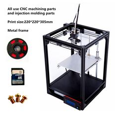 2017 Newest 3D printer Large 220*220*305mm Metal frame High Quality Precision DIY kit Filament SDcard LCD Ultimaker 2 CL 260-in 3D Printers from Computer & Office on Aliexpress.com | Alibaba Group