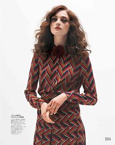 Chelsea Girl / ELLE Japan 2015/ Gucci