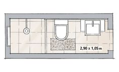 Full bathroom dimensions with a bath or large shower 8ft for Bathroom remodel 6x7
