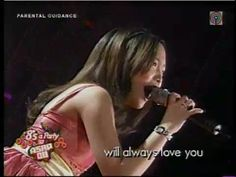 Charice Pempengco - I Will Always Love You