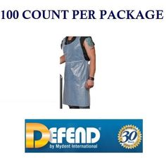 100 Quality Disposable Poly Tattoo Kitchen Aprons by Defend USA Seller | eBay