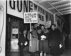 """African Americans had picketed the showing of """"Gone with the Wind"""" at the Lincoln Theatre in the segregated Shaw neighborhood of Washington, D.C.  The film's racist assumptions and stereotyped portrayals of African Americans roused normally complacent residents to mount a protest that foreshadowed the civil rights activism of the 1960s.   Smithsonian Collections Blog: 75th Anniversary of """"Gone with the Wind"""""""