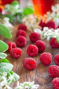 Raspberries...