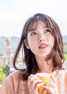 Autumn morning Korean Actresses, Korean Actors, Kim Ji Won, Iu Fashion, Korean Artist, Korean Celebrities, Ulzzang Girl, Woman Crush, Korean Singer