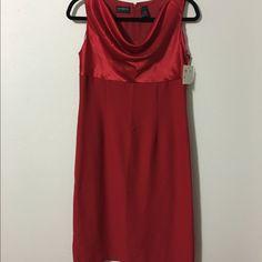 Beautiful New Red Liz Claiborne Dress