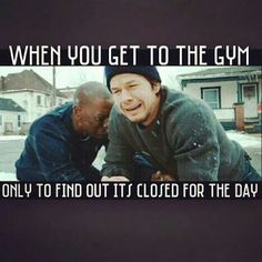 Gym humor. Happened to me once :(
