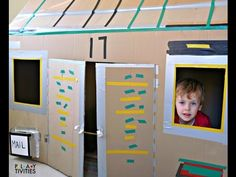How To Build The Most Simple Cardboard House - PLAYTIVITIES