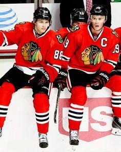 Jonathan Toews and Patrick Kane Chicago Blackhawks.