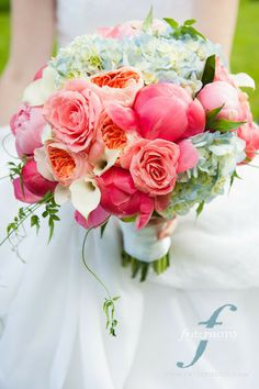 orange, peach andcoral - wedding gallery - zest floral and event design
