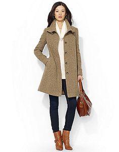 Women's | Trenchcoats | Printed Wool Jacket | Hudson's Bay