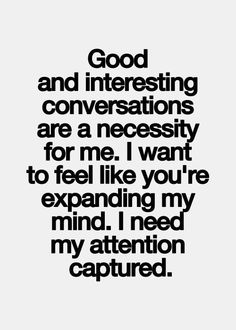 """Small talk just isn't very interesting... that's why it's called """"small"""".  #introvert #INTJ"""