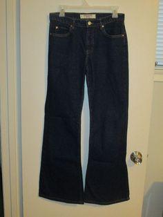 Paris Blues women's bell bottom blue jeans size 7 #ParisBlues #Flare