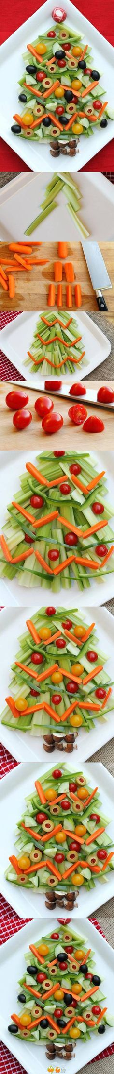 Christmas Salad - individual or family size - easy peasy!