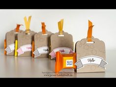 Tutorial: Schnelle Verpackung für einen Ritter Sport-Würfel