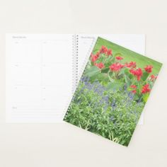 Personalized Planner - floral style flower flowers stylish diy personalize