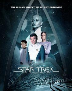 """""""Star Trek: The Motion Picture. Star Trek Cast, New Star Trek, Star Trek Series, Star Wars, Star Trek Starships, Star Trek Enterprise, Science Fiction, Akira, Star Trek Posters"""