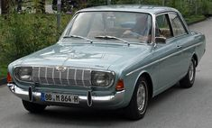 Ford Taunus. This is what I had when I lived in Italy.