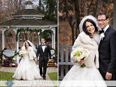 Olde Mill Inn bride and groom - Basking Ridge NJ wedding photographer