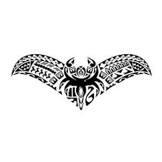 Samoan manta integration tattoo