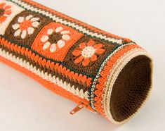 Image result for tapestry crochet round pencil case cover