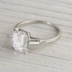 2.43 Carat Vintage Tiffany & Co. Engagement Ring | Erstwhile Jewelry Co.
