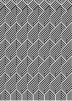 Typesetting pattern by Jaka Bonča (aka Rototype) Graphic Patterns, Shape Patterns, Color Patterns, Print Patterns, Boho Pattern, Pattern Art, Pattern Design, Simple Pattern, Design Textile