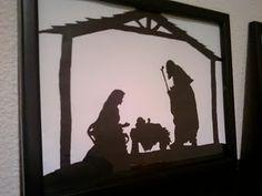 Nativity Silhouettes!