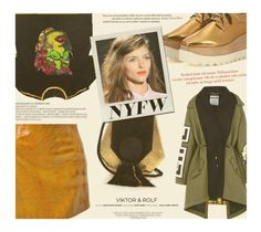 """""""What to Pack: NYFW"""" by zayngirl1dlove ❤ liked on Polyvore featuring Manish Arora, STELLA McCARTNEY, Yves Saint Laurent, Moschino, Versace and Viktor & Rolf"""