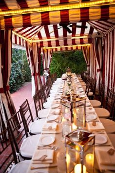 OK - THIS is a great tent for a wedding celebration!