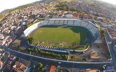 Estádio José Costa - Espírito Santo do Pinhal (SP) - Capacidade: 15,7 mil - Clube: Ginásio Pinhalense