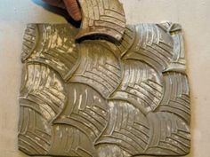 How to make tessellation/repeated patterns in clay