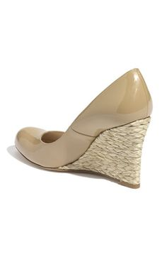 NEED / L.K. Bennett 'Maddox' Wedge Pump in taupe / $285