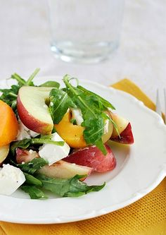 This delicious side salad is the perfect recipe for a health conscious family - Nectarine Salad.