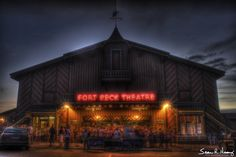 Fort Peck Montana big city theatre