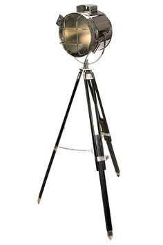Kaden Spot Floor Lamp - want something like that for the hall. www.homedecorators.com