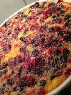 Bistro  Sezóna: Clafoutis / Francouzský dezert Lasagna, Quiche, Breakfast, Ethnic Recipes, Food, Morning Coffee, Essen, Quiches, Meals