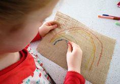 Childhood 101   Simple Kids Sewing: Sewing Rainbows