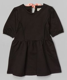 Love this Black Ferri Sweatshirt Dress - Toddler & Girls by Vierra Rose on #zulily! #zulilyfinds