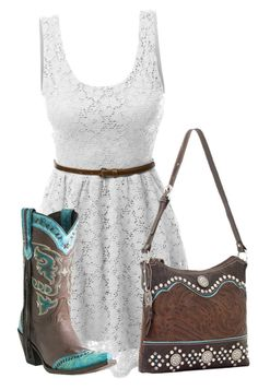 """""""Untitled #14323"""" by nanette-253 ❤ liked on Polyvore featuring LE3NO, Lucchese, American West, women's clothing, women, female, woman, misses and juniors"""