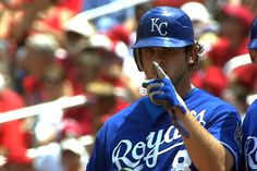 "Royals' Mike Moustakas-""MOOSE"""