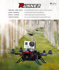 Walkera's new Runner 250 Racing Drone