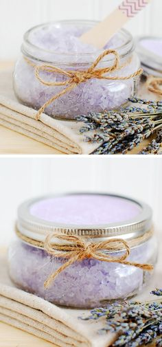 Homemade Bath Salts | Click Pic for 24 DIY Christmas Gift Ideas on a Budget | Last Minute Christmas Gift Ideas for Family