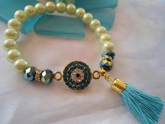 SALE GYPSY s WEDDING  Bohemian style Bracelet Gypsy by Nezihe1, $17.99
