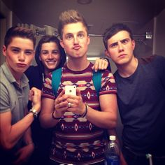 Jack and Finn Harries, Marcus Butler, and Alfie this makes me very happy ;)