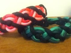 Celtic bar paracord bracelet with buckle tutorial