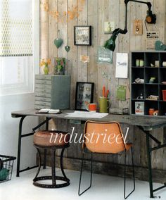 #industrial style #workspace
