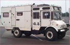 Unimog Camper (1977) Awesome!!  I want this one!!