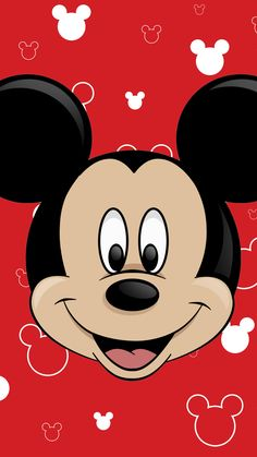 Mickey Mouse Close-Up Wallpaper