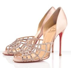 Louboutin, bride, bridal, wedding shoes, bridal shoes, wedding