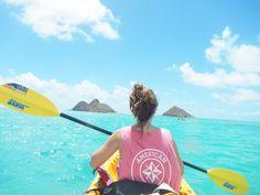 Allie Elizabeth More Dah Sea, Summer Looks, Sea Kayaks, Preppy Summer, Ally Elizabeth, Crystals Clear, Forever Summer, Lheur Dété, Summer Prep crystal clear Sea kayaking!! Summer prep